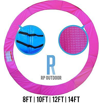 NEW Trampoline Spring Pink Safety Pad Cover Round Spare 8ft 10ft 12ft 14ft foot