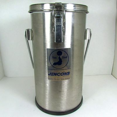 Jencons 2L Vac-Seal Stainless Steel/Glass Cryogenic Dewar Flask with Lid