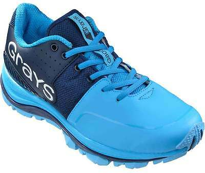 Grays G8000 Hockey Shoes Sports Astro Trainers Navy/White/Sky