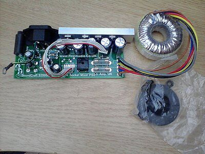 Replacement Linear Power Supply Soundcraft S-S2006A E ES EPM EFX MPM Mixers PSU