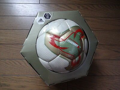 Adidas Fevernova 2002 World Cup Official Soccer Ball with Box Still Sealed Rare
