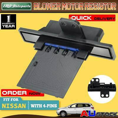 For Nissan Pathfinder R50 95-04 Patrol GU 97-13 Blower Motor Heater Fan Resistor