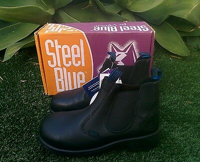 Steel Blue Vivien Womens Safety Boots Size 7.5/ EUR 39/ USA 8.5 *NEW*