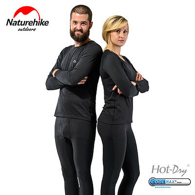 Naturehike Unisex Sport Thermal Underwear Winter Quick drying Outdoor Base Layer