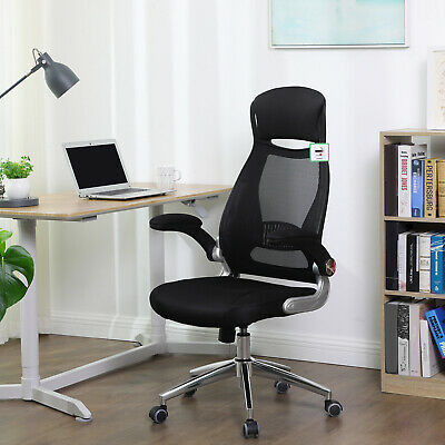 SONGMICS Mesh Office Swivel Executive Computer Desk Racing Sport Gaming Chair