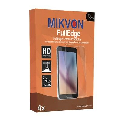 4x Mikvon FullEdge protector display para Sony SmartWatch 3 lámina