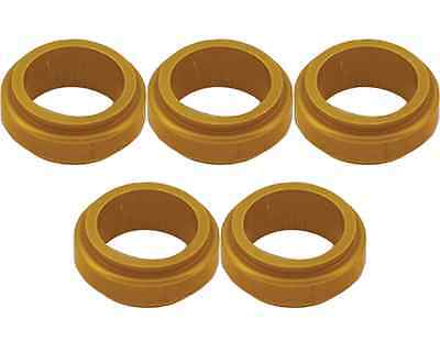 5 Gold 17mm x 10mm Alloy Wheel Spacers Prokart Cadet  UK KART STORE