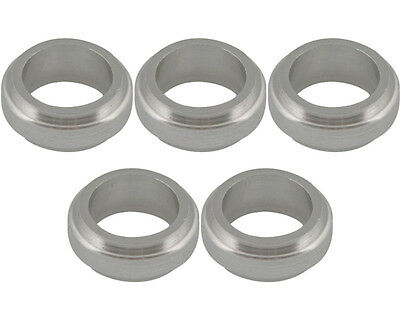 5 Silver 17mm x 10mm Alloy Wheel Spacers Prokart Cadet  UK KART STORE