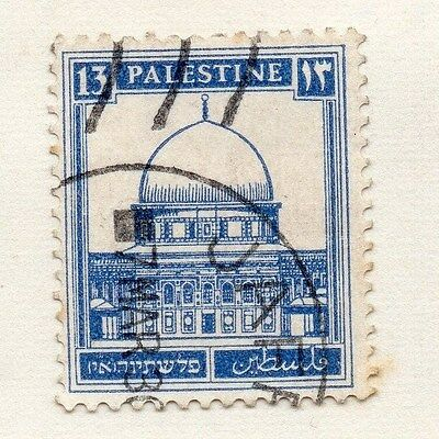Palestine 1980s Early Issue Fine Used 13m. 076041