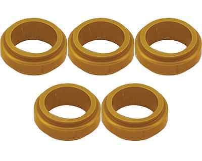 5 Gold 17mm x 5mm Alloy Wheel Spacers Prokart Cadet  UK KART STORE