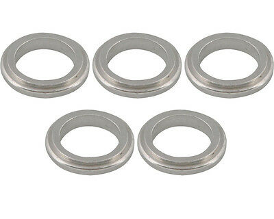 5 Silver 17mm x 5mm Alloy Wheel Spacers Prokart Cadet  UK KART STORE