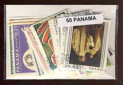 Panama 50 timbres différents