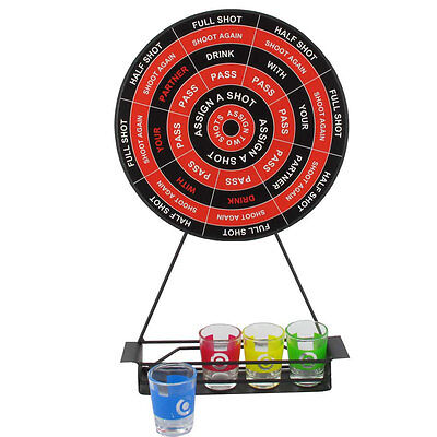 Novelty drinking dartboards with velcro balls dart board stag do games