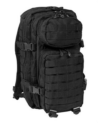 Sac A Dos Assault Pm Noir Commando Us Pack Armee Airsoft Paintball Pr