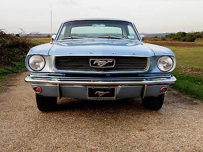 1966 Ford Mustang 289 Hardtop Coupe-Fabulous 3 owner example