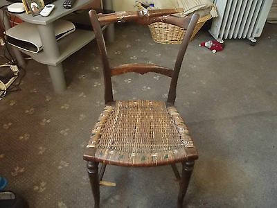 antique Edwardian childs/doll chair