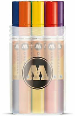 Molotow One4All Acrylic Twin - 12 X Twin Tip Pump Marker Paint Pens - Main Kit 1