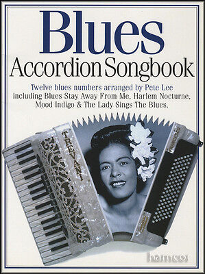 Blues Accordion Songbook Sheet Music Book