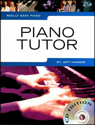Really Easy Piano Tutor Learn How to Play Tutor Method Music Book/CD Beginners
