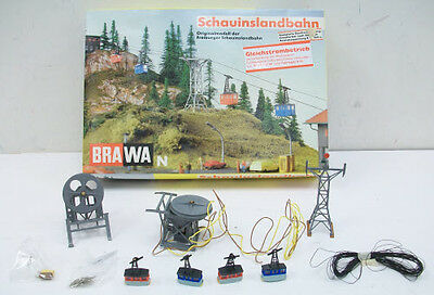 Brawa 6560 N Scale Cable Car Set
