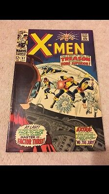 The X-Men #37 - 1St Appearance Of  Mutant Master- High Grade Silver Age Book