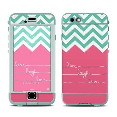 Skin for LifeProof Nuud iPhone 6S - Live Laugh Love - Sticker Decal