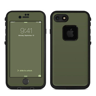 Skin for LifeProof FRE iPhone 7 - Solid Olive Drab - Sticker Decal