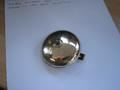 Antique French Clock Silvered Bell. 1.