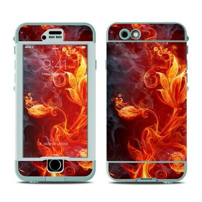 Skin for LifeProof Nuud iPhone 6S - Flower Of Fire - Sticker Decal