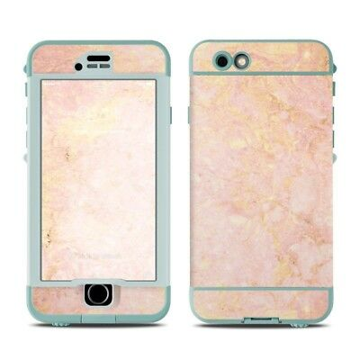 Skin for LifeProof Nuud iPhone 6S - Rose Gold Marble - Sticker Decal