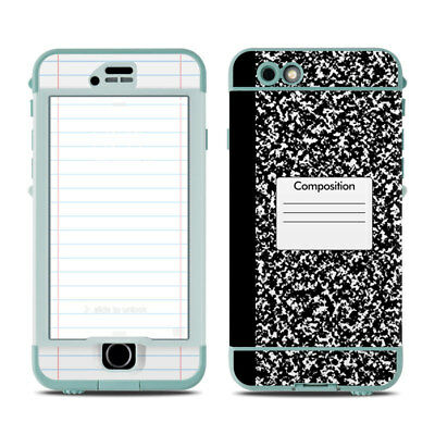 Skin for LifeProof Nuud iPhone 6S - Composition Notebook - Sticker Decal