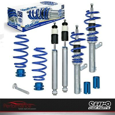 JOM 741053 Blueline Performance Coilovers Lowering Suspension Kit VW Passat 3C