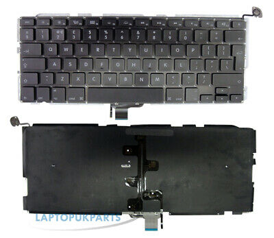 "For Apple Macbook Pro Unibody 13"" A1278 2009-2013 Keyboard Uk Layout Backlit"