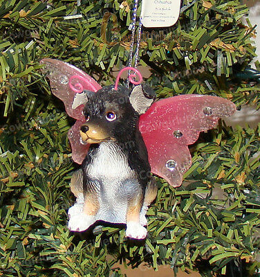 Chihuahua Bejeweled Ornament (Keith Kimberlin Wings by Westland, 21605)
