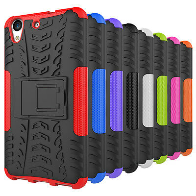 NEW Rugged Hybrid Armor Shockproof Hard Case Stand Cover For Huawei Y6 II /Y6 2