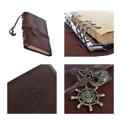 Leather Notebook Journal Diary Vintage Handmade Travel journal Writing Book New