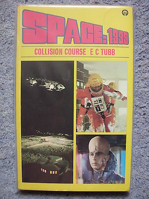 'Space:1999 - Collision Course' by E C Tubb - Book 4 - P/back - Gerry Anderson
