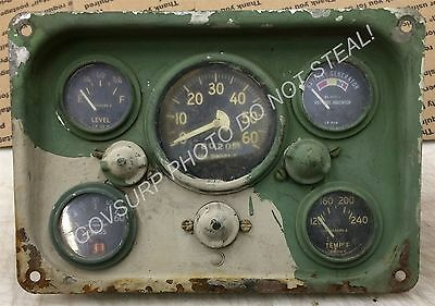 M151A1, M151A2, M151, M718, M825 Instrument Panel Dash Board - USED TAKE OUT