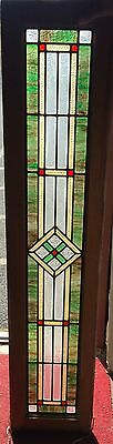 Early 20th century Mission style stained glass window
