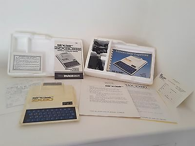 Sinclair ZX80 Boxed US Version with Original Paperwork Ultra Rare
