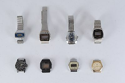 Lot 8 Lorus Orintex Casio Timex Criterion Sanyo Wrist Watches