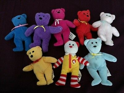 mcdonald Ty beanie bears! Collection of 8.