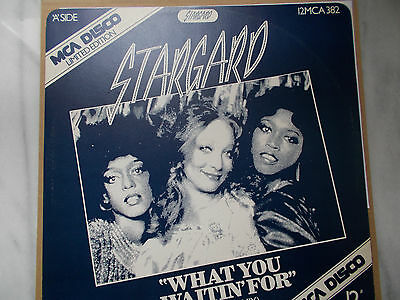 """Stargard-""""What You Waitin' For"""" (U.S. Disco Mix) 12"""" Vinyl Record M C A Records"""