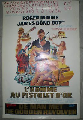 HOMME AU PISTOLET D'OR Hamilton JAMES BOND Roger Moore