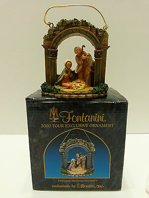 Fontanini 2000 Ornament Heirloom Nativity 65019 Signed & Figure Made in Italy
