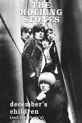 """Rolling Stones December's Children Poster UK Import 24"""" x 36""""   Free US Shipping"""