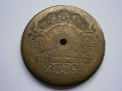 Vintage gents POCKET watch part 8 DAYS mechanical watch spares repair swiss made
