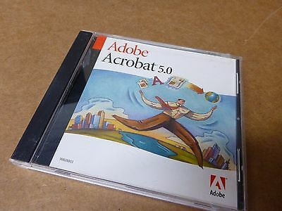 Adobe Acrobat 4.0 for Windows with Serial Number - free ship