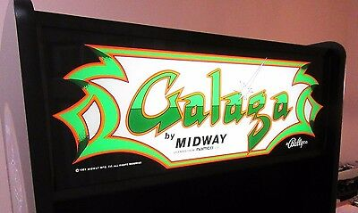 Arcade Machine,-Coin Operated,-Amusement,- Bally Midway,-,Galaga,-,New Cabinet