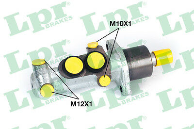 2x Brake Master Cylinders 1314 LPR 7701205739 P30203 Genuine Quality Replacement